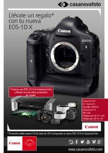 Promoción Canon EOS 1DX