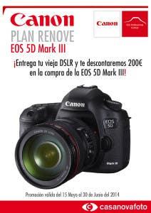 Plan Renove Canon EOS 5D MarkIII