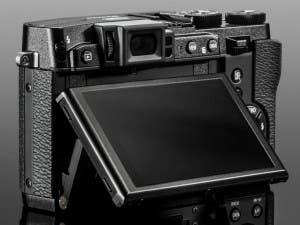 Fujifilm X30 pantalla
