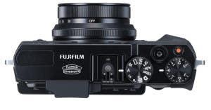 Fujifilm X30 top