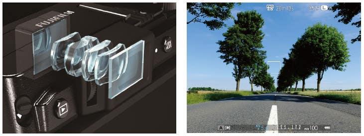 Fujifilm X30 visor