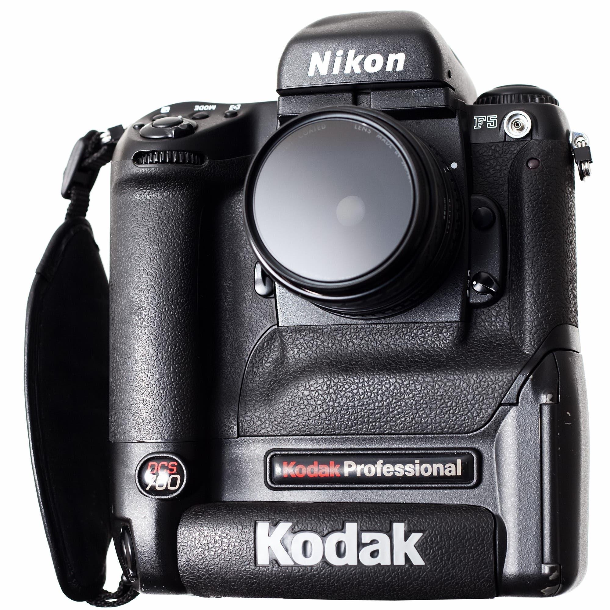 Kodak DCS 760 y Nikon F5