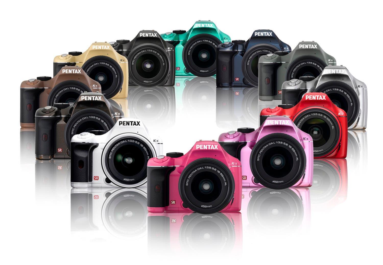 Pentax KX en 12 colores