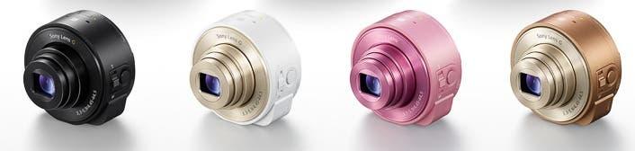 Sony DSC-QX10 colores