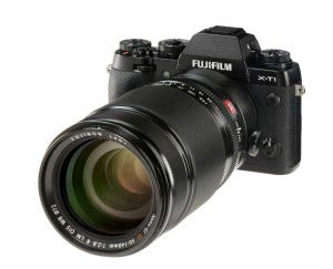 FUJINON XF50-140mmF2.8 R LM OIS WR en Fujifilm X-T1