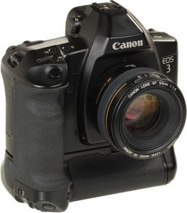 Cámara réflex Canon EOS 3S