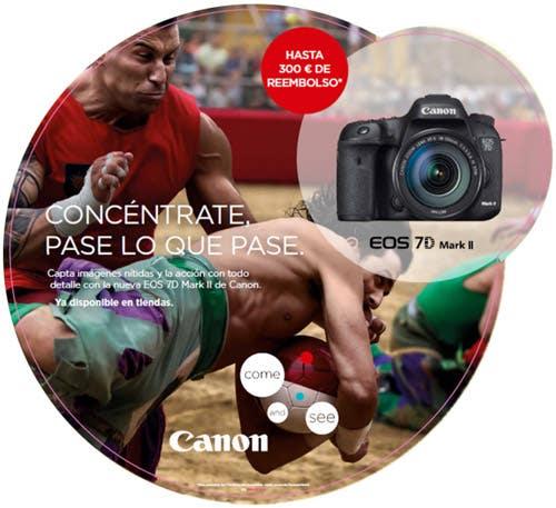 Promoción reemobolso Canon EOS 7D Mark II