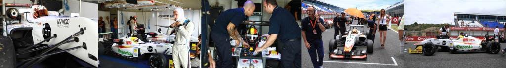 Tira de imágenes Campos Racing