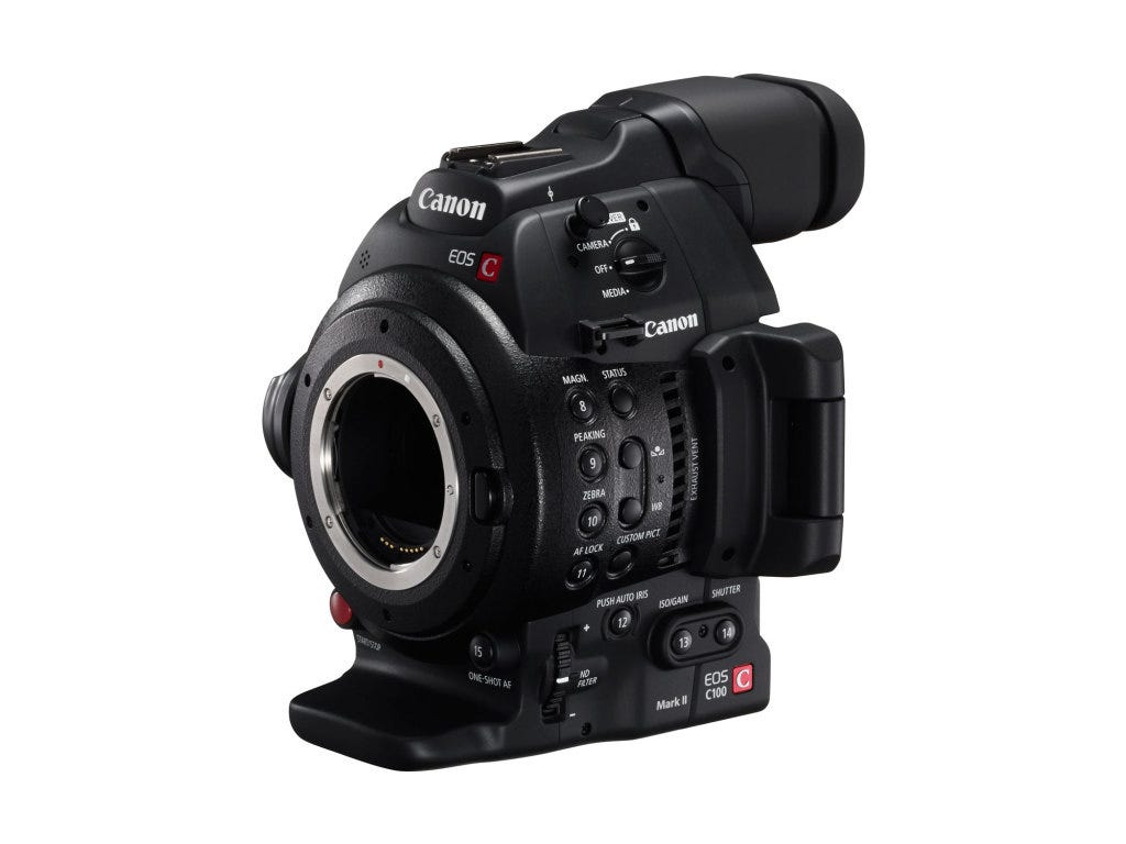 Canon EOS C100 Mark II