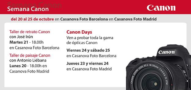 Semana Canon en Casanova Foto 20-25 octubre 2014