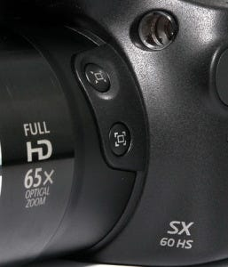 Canon Powershot SX60 HS detalle