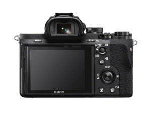 Sony a7 II back