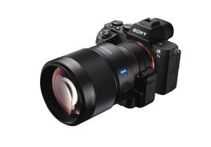 Sony a7 II zoom