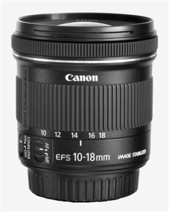 Canon EF-S 10-18/4.5-5.6 IS STM Digital Camara Lens