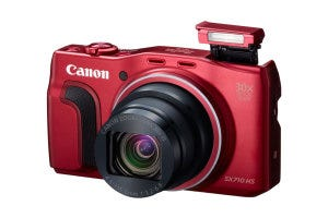 Canon PowerShot SX710 HS Red Flash Up