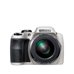 Fujfilm FinePix S9900W White front