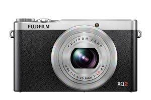 Fujifilm XQ2 Silver front