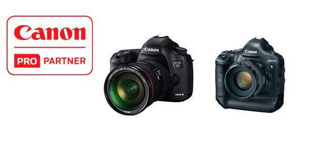 logo canon pro partner - canon eos 5d mark iii - canon eos-1d x