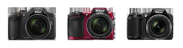 Nikon Coolpix P610, L840 y L340