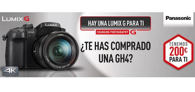 Cashback Lumix GH4