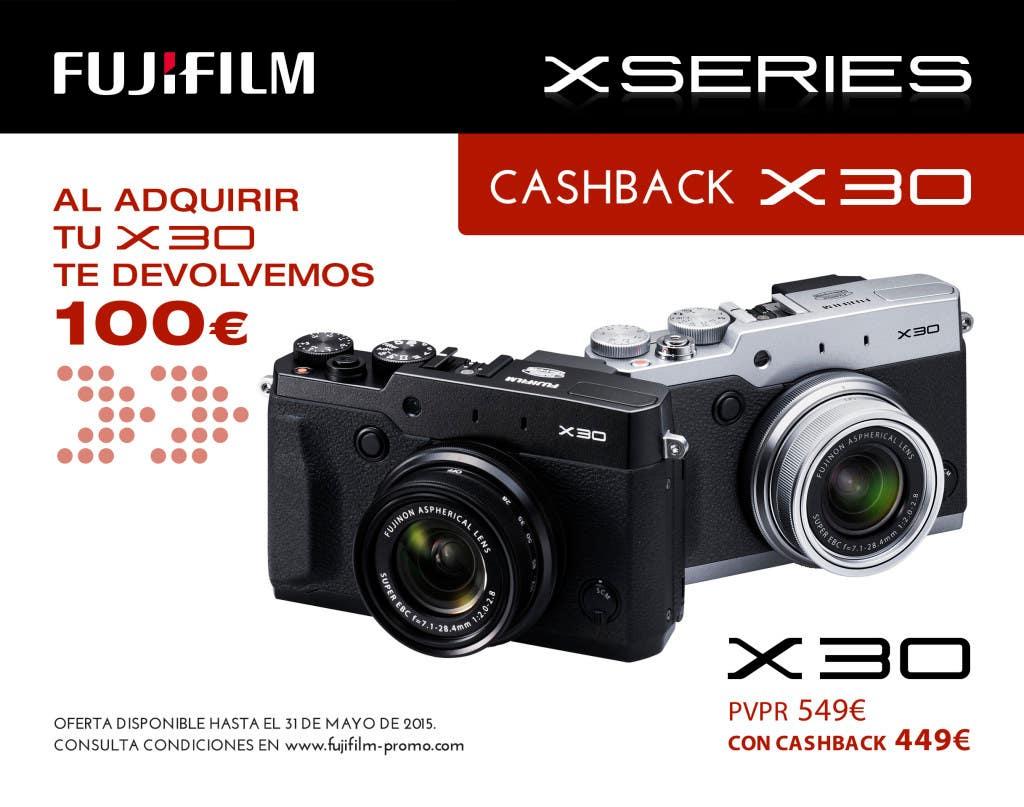 Cashback Fujifilm X30