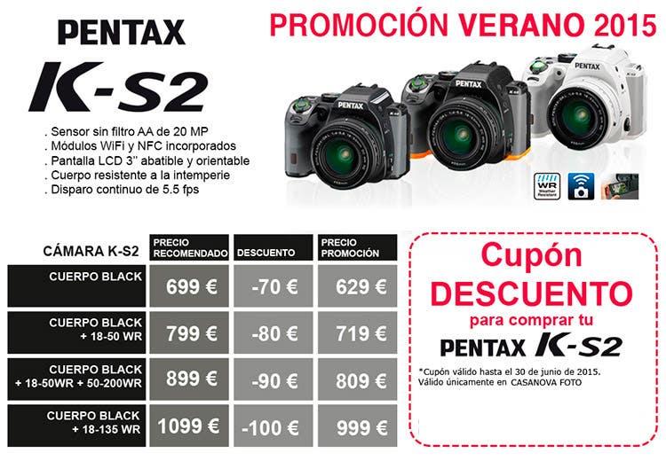 Promoción Pentax K-S2