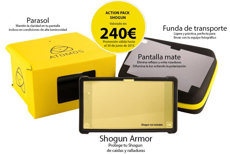 Promoción Atomos Shogun