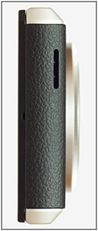 Perfil lado inferior teléfono Panasonic  LUMIX DMC-CM1