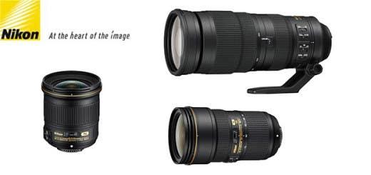 Nuevas opticas Nikon