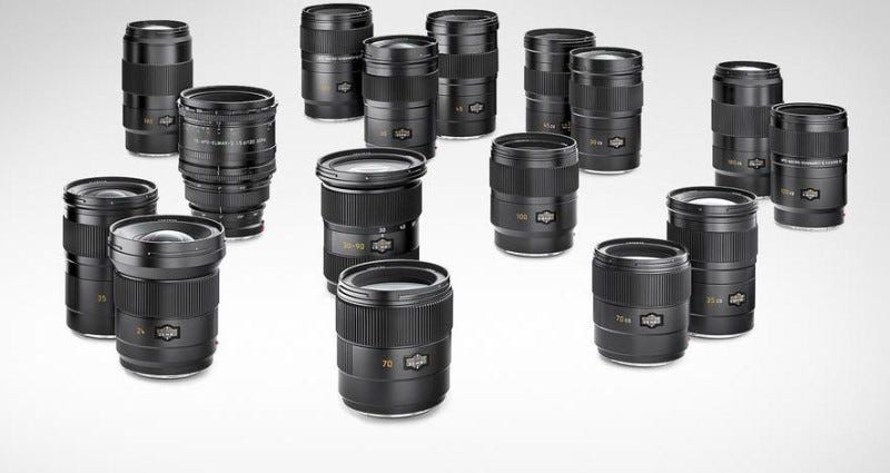 Leica S-Lenses
