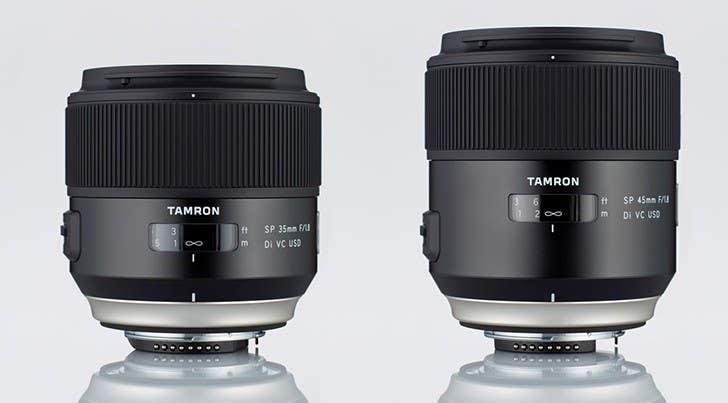 Tamron SP 35/1.8 45/1.8