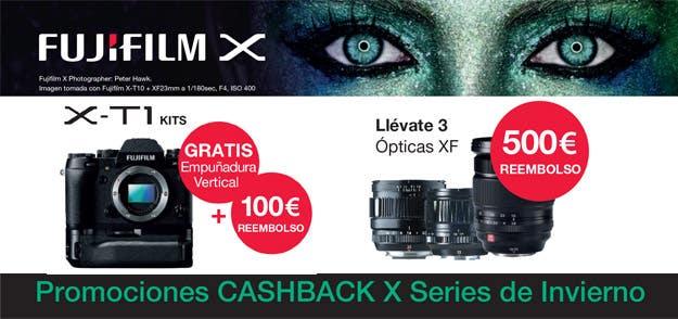 Fujifilm Cashback Invierno 2015