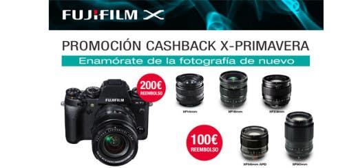 Promoción primavera Fujifilm