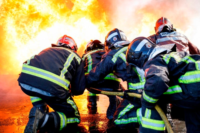 3º clasificado vida bomberil: © Albert González - Junts contra el foc