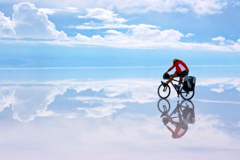 1º clasificado viajes: © Francesc Plana - Pedalant el cel