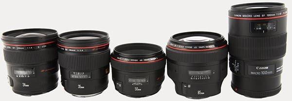 Canon_prime_lenses