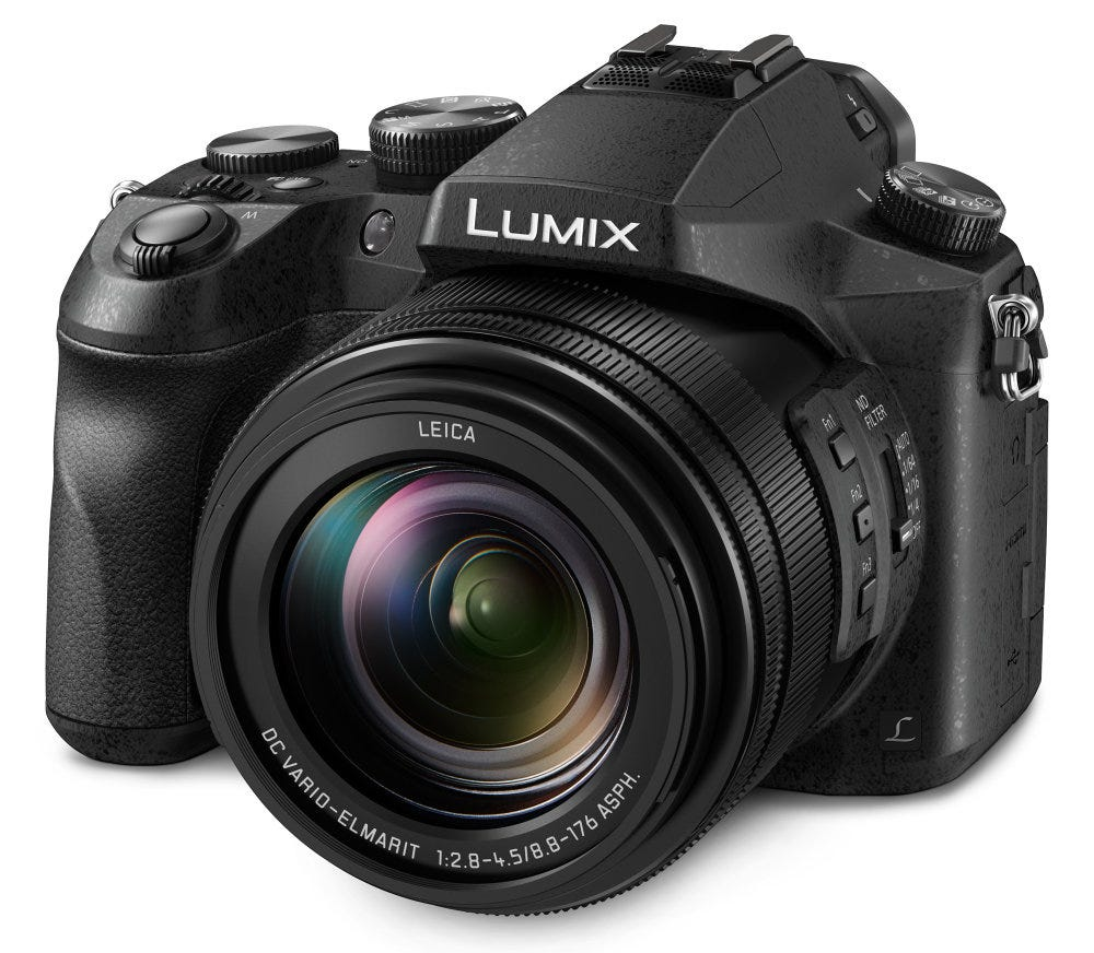 Más novedades Panasonic: Lumix GH5, FZ2000 y LX15 ...