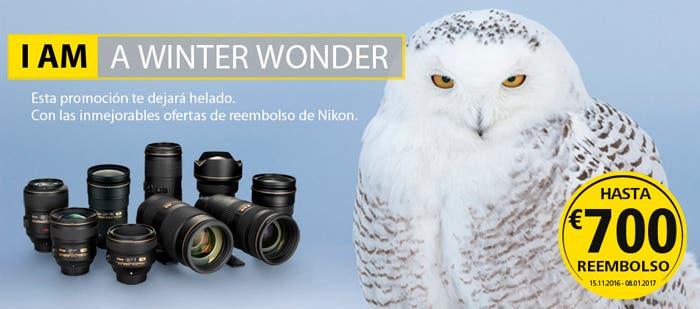 Reembolso Nikon Winter
