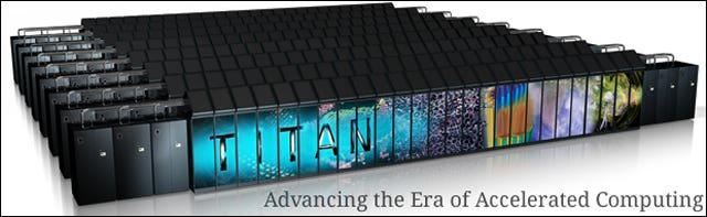 Titan Cray XK7
