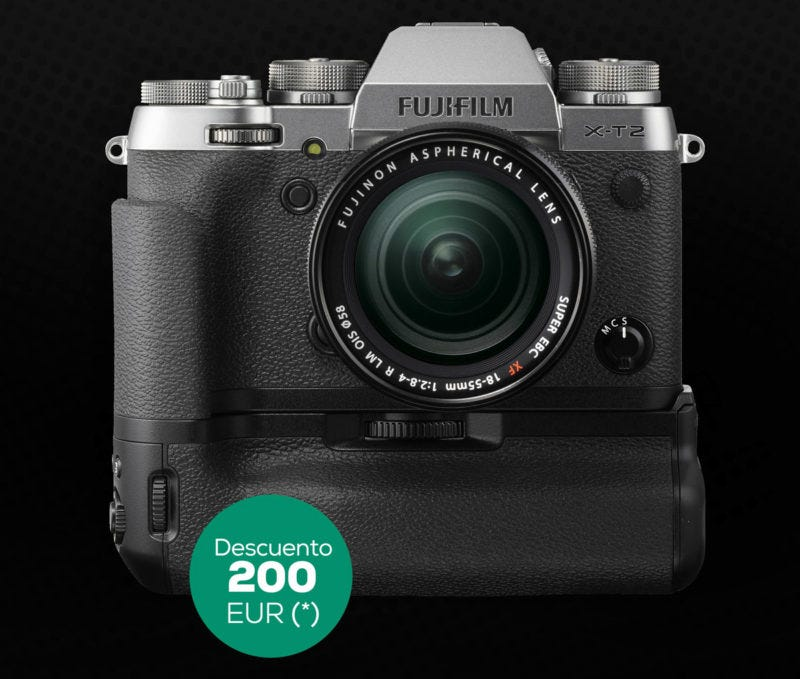 Preorder X-T2 GS
