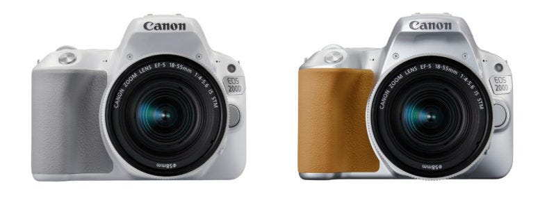 Canon EOS 200D - Colores Alternativos