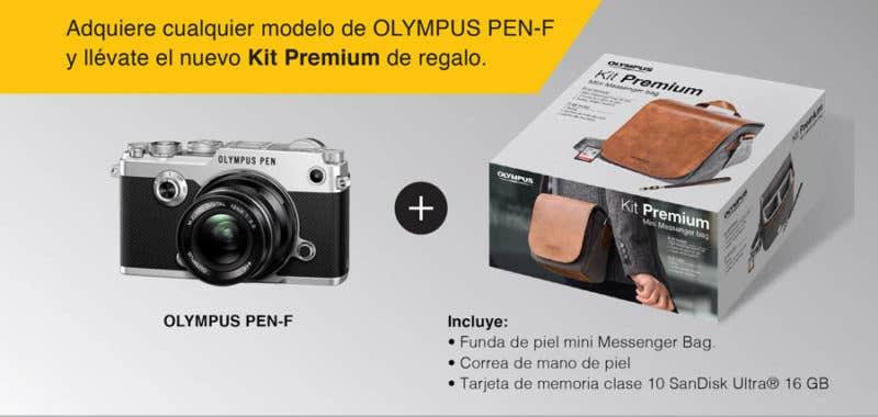 Olympus PEN-F Kit Premium