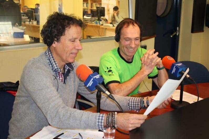 Alberto Zerain y Oscar Cadiach