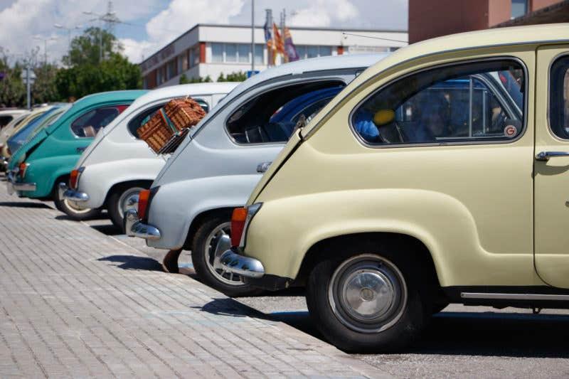 Foto de Isaac Sebastián - Concentración de coches clásicos (Barcelona)