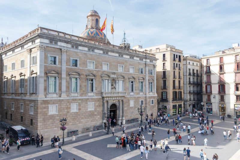Foto de Isaac Sebastián - Palau de la Generalitat (Barcelona)