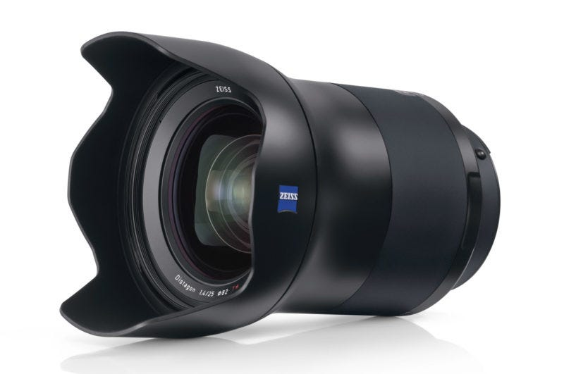 Zeiss milvus 25mm f1.4