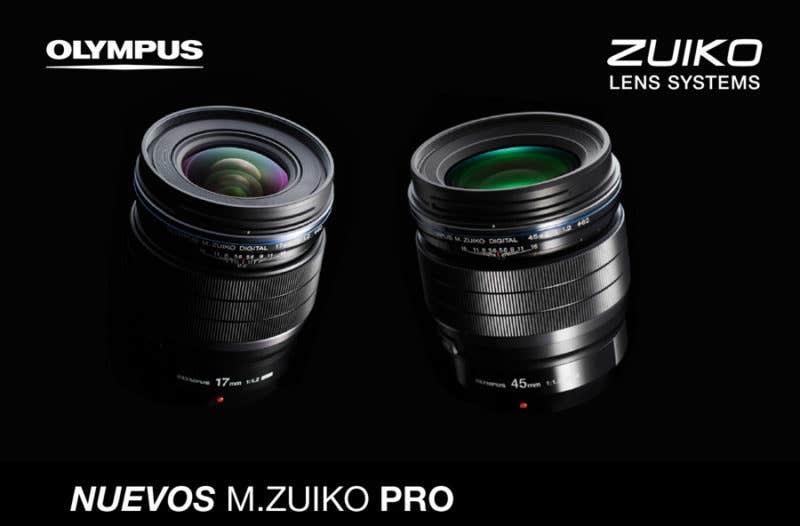 nuevos zuikos-pro