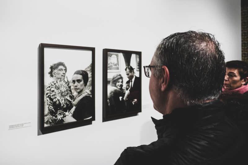 Biarnés tuvo la ocasión de retratar a muchas de las personalidades de la época, como Dalí, con quién tenia muy buena relación.