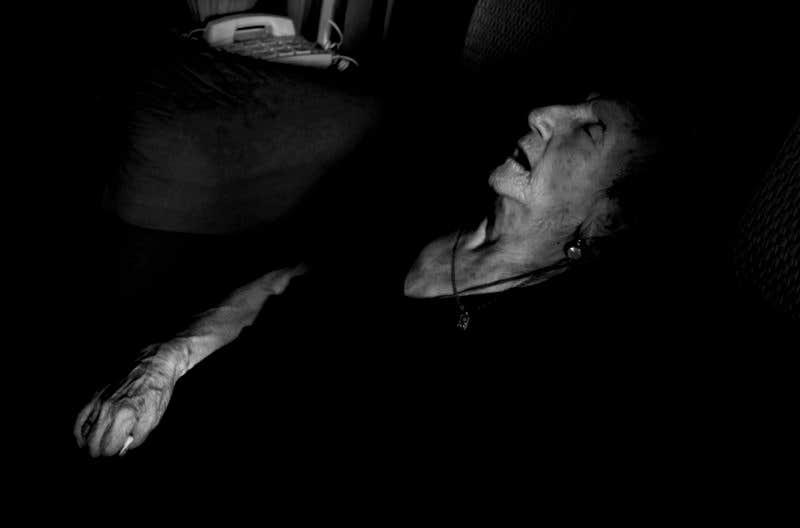 Durmiendo la Siesta. © Carlos de Andrés