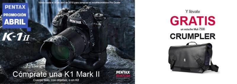 Pentax K-1 II promocion